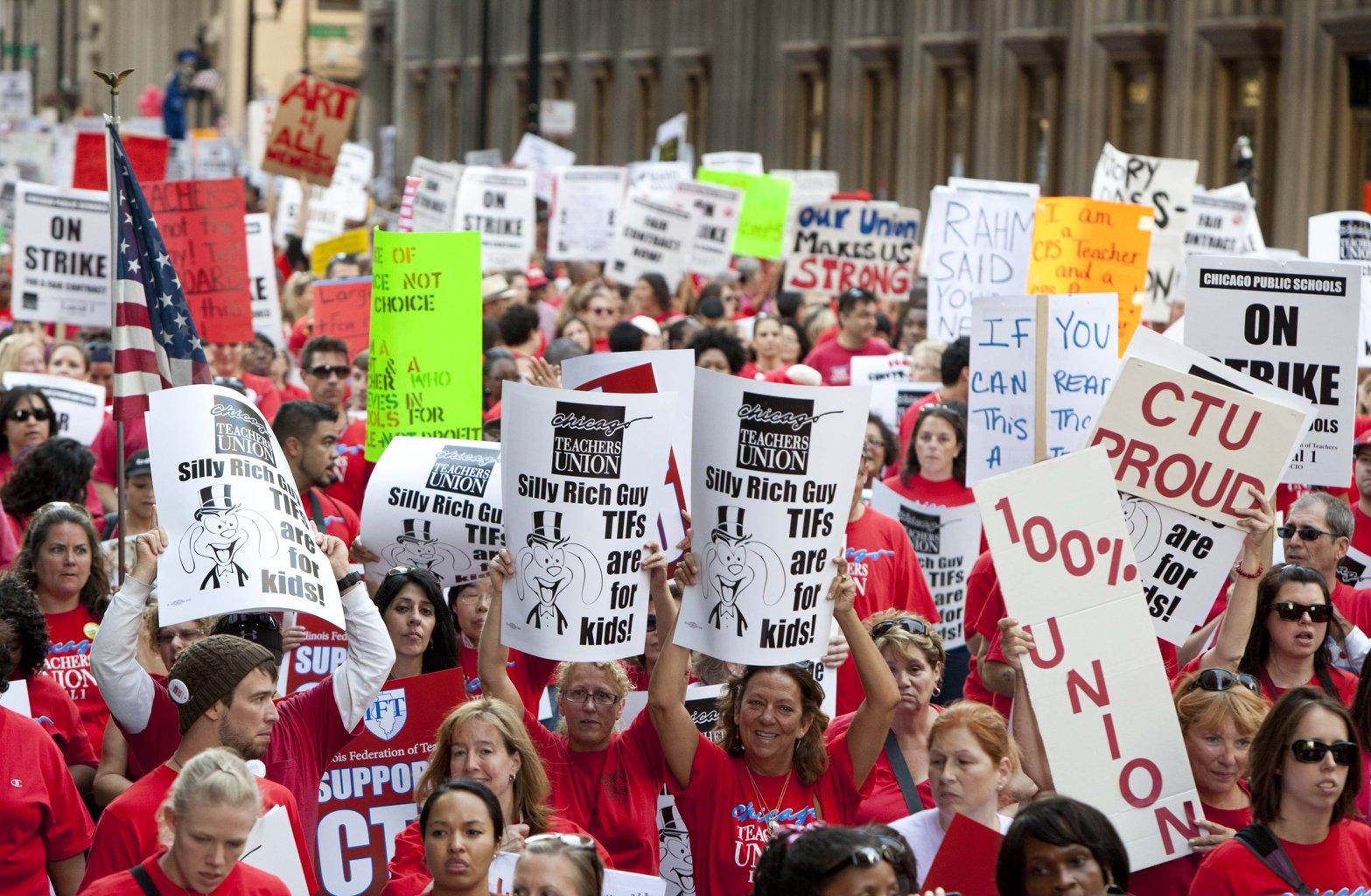 The Teachers Strike: An Emerging Revolutionary Ideal