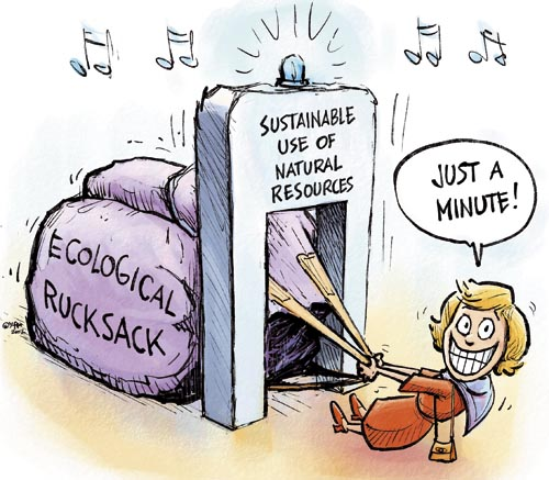 Sustainable use of natural resources