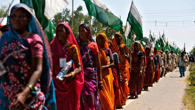 India's landless march in Madhya Pradesh