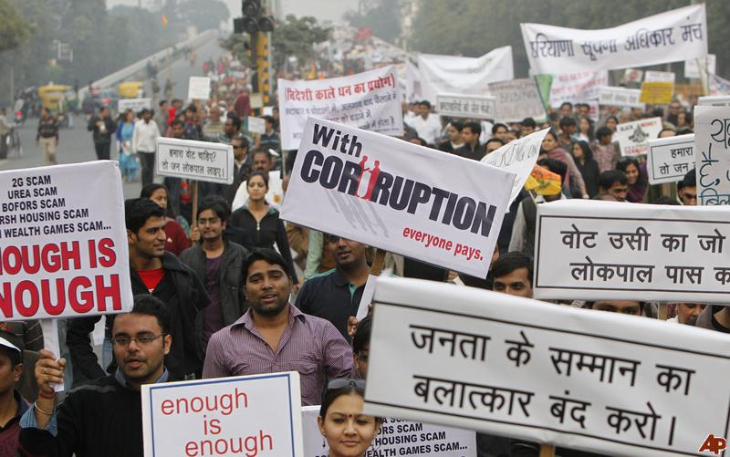 India and the politics of 'corruption' – Philosophers for ...