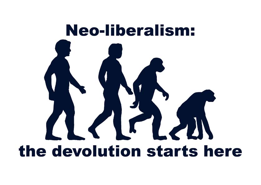 Does neo liberalism or neo marxism provide the