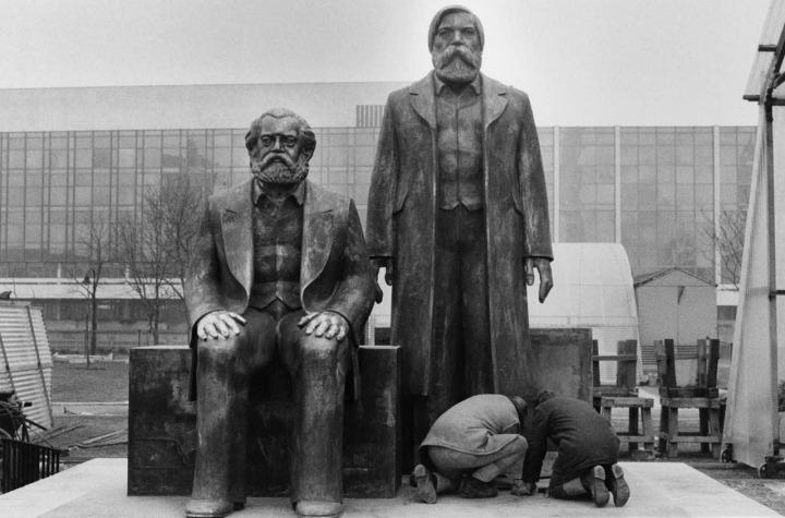 Marx-Engels Monument Berlin