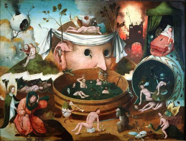 [Credit: School of Hieronymus Bosch, Tondalus' Visioen.]